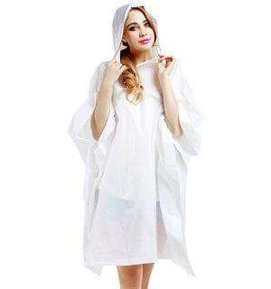 Best Rain Poncho for Travel - Aircee