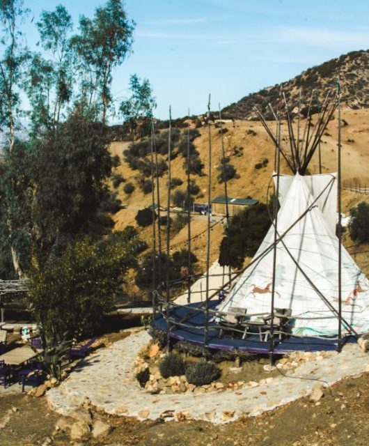 The Glamping Hub Great Spirit Ranch Teepee