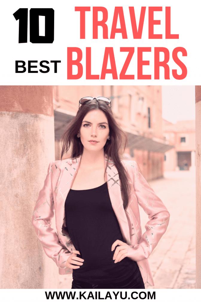 Best Lightweight Travel Blazers for Women