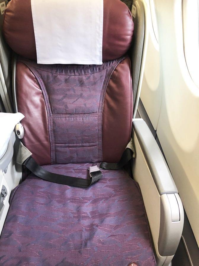 China Airlines Business Class Flight, Bangkok to Taipei BKK TPE