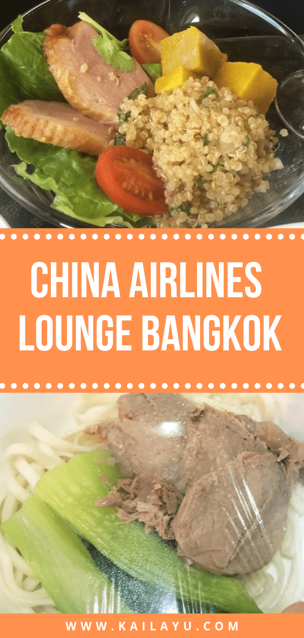 China Airlines Lounge Bangkok
