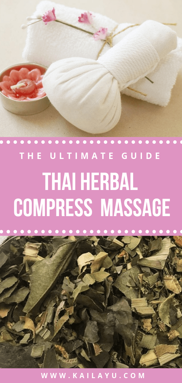 Thai Herbal Compress Ball Massage