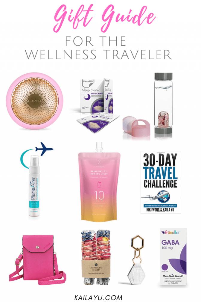 Gift Guide for the Wellness Traveler